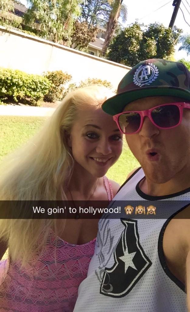 Äntligen åkte vi upp till Hollywood också.